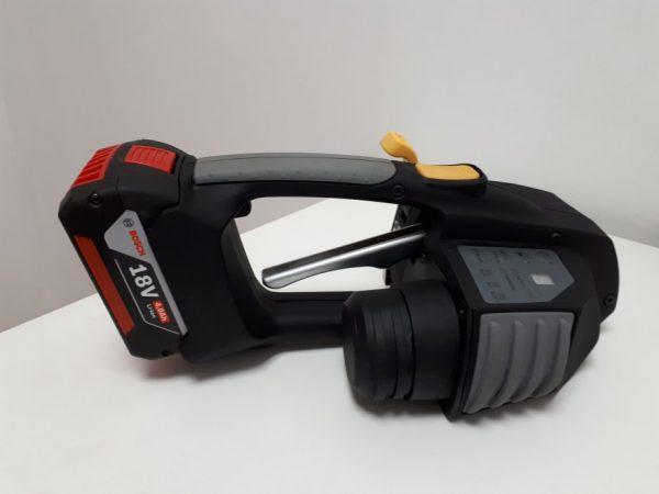 Messersi MB620 akkumulátoros kézi pántológép 12-16 mm-es PET és PP pántszalagokhoz akkumulátorral és töltővel 3