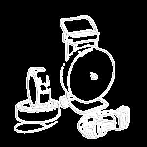Akkumulátoros pántoló készletek