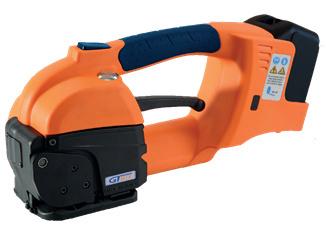 GT ONE akkumulátoros pántológép 10-16 mm-es PET és PP pántszalagokhoz akkumulátorral és töltővel 2